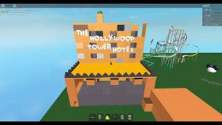 Roblox Ride The Hollywood Tower Hoter Ride