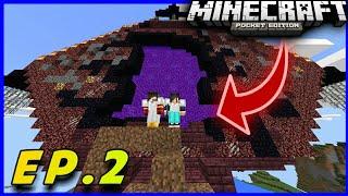 Este Portal No Debió De Existir!!! | Portal Al Mundo De La Muerte | LooneyLand EP.2 Minecraft Pe