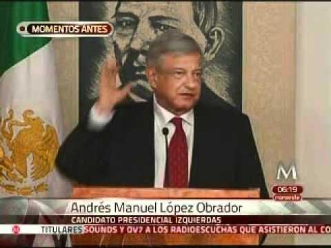 Despreocupa a AMLO intervención de Calderón en proceso electoral