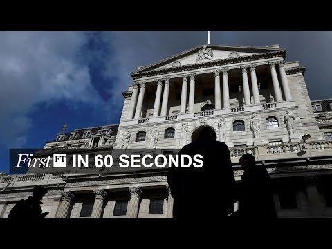 UK pension fears after bond yield drop, Australia blocks China infrastructure bid | FirstFT