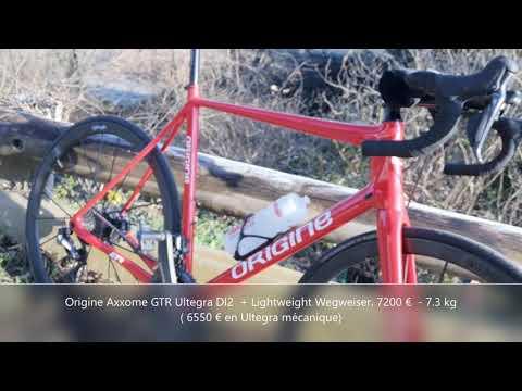 GTR Axxome  Lightweight Wegweiser pneus  Ultegra DI2