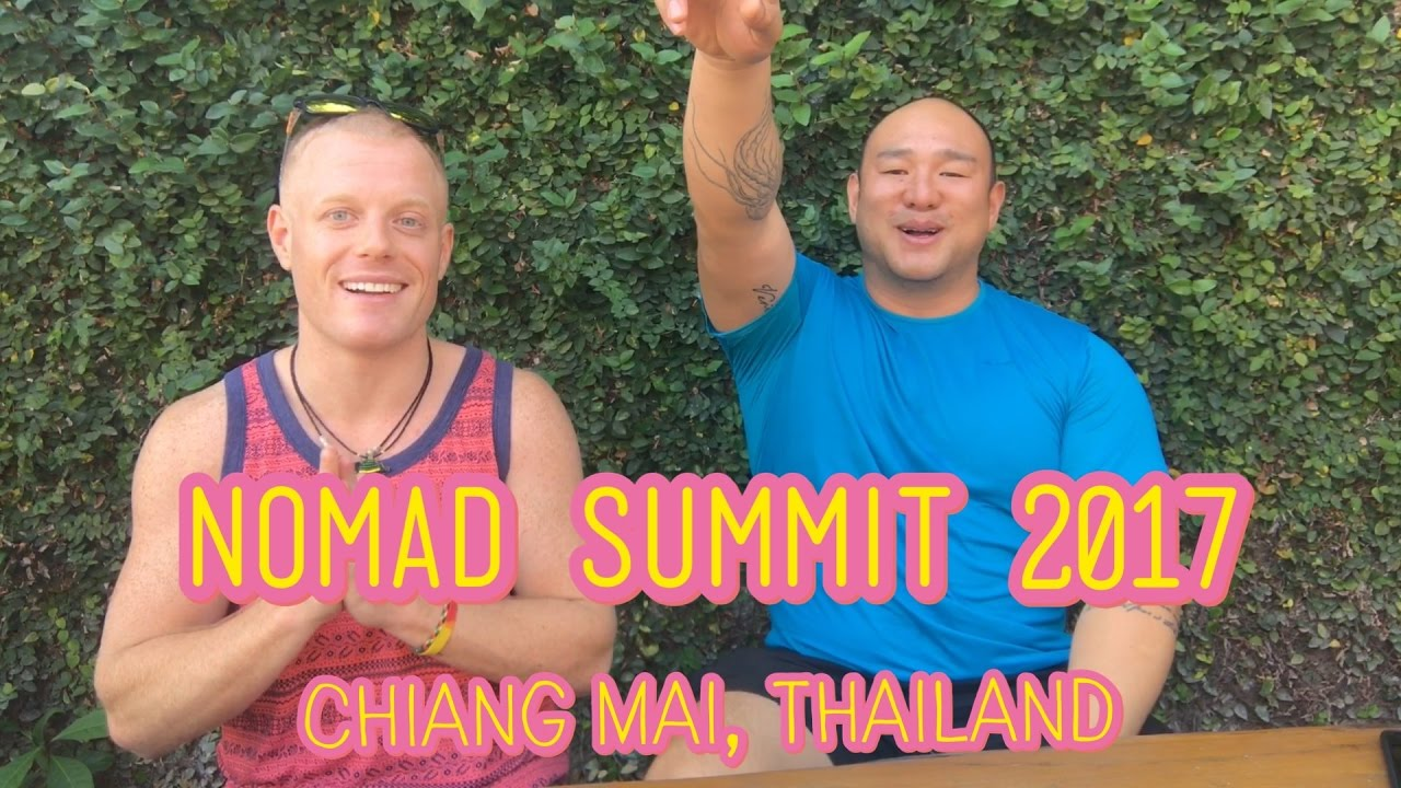 My #1 Lifehack to be Digital Nomad w/ Johnny FD ??+Nomad Summit 2017 – Feb 4th Chiang Mai Thailand