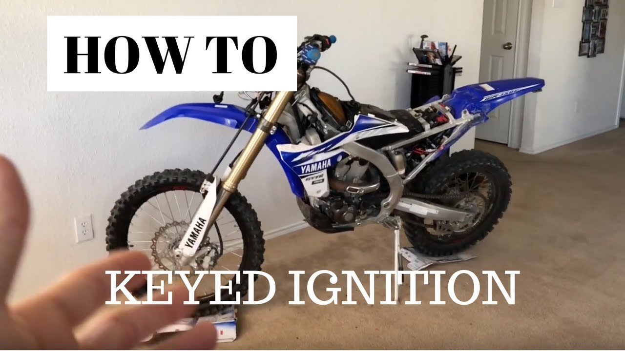 how to: keyed ignition 2017 wr450f