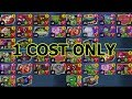 THE ALL 1 COST DECK CHALLENGE mp3