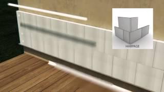 ITE Syst  Amaterm Isolant PSE blanc Pose fixée mécanique profilés maison individuelle
