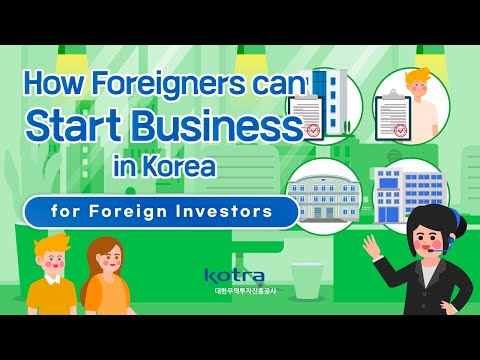 How Foreigners can start Business in Korea image