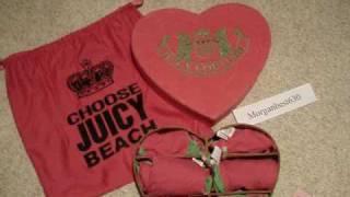 Juicy Couture bikini swim suit collector box set
