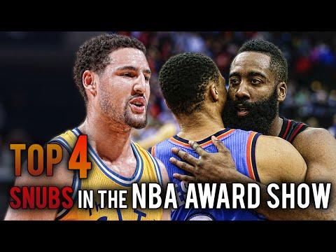 Top 4 SNUBS of the NBA Award Show