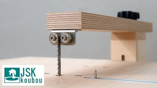 How to make Jigsaw Table Machine || DIY Jigsaw Table 【JSK】