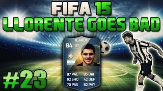 FIFA 15 Llorente Goes Bad 23 Icardi TOTS Xbox One German