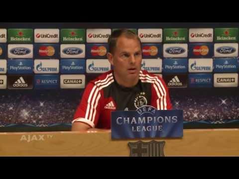 De Boer: 'Barça is de beste'