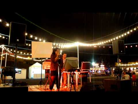 Festas da Bobadela 2010 - 14 de Julho - Karaoke - A aniversariante Cátia La-Sallete