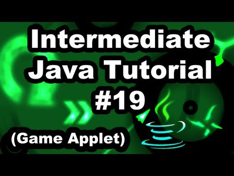 Learn Java 2.19- Game Applet- Creating Game Items