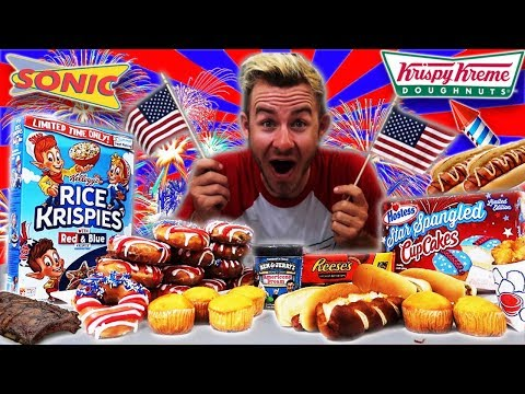 THE GREAT AMERICAN 4TH OF JULY FEAST! (10,000+ CALORIES)