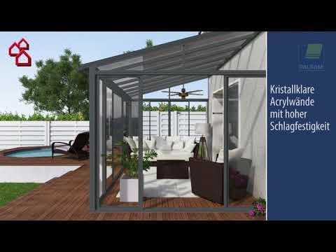Wintergarten San Remo Von Palram Bauhaus Youtube