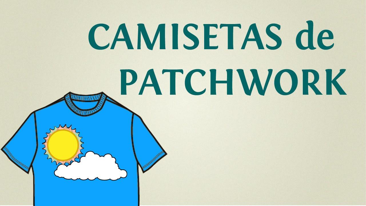 Como Hacer Camisetas De Patchwork O Quilt Paso A Paso Youtube - Plantillas-patchwork-infantil