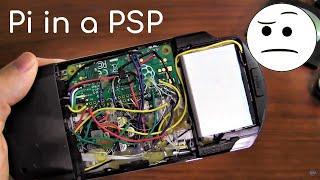 pspi version 1000 2 raspberry pi zero in a psp shell