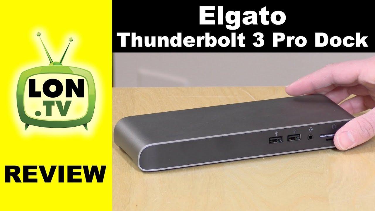 Elgato Thunderbolt 3 Pro Dock Review: Dual USB-C Gen 2 Ports Tested
