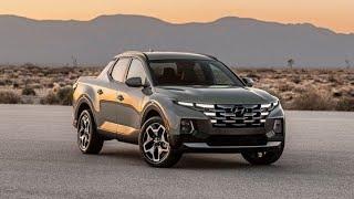 Hyundai Santa Cruz 2022 اجمل بيك اب في العالم