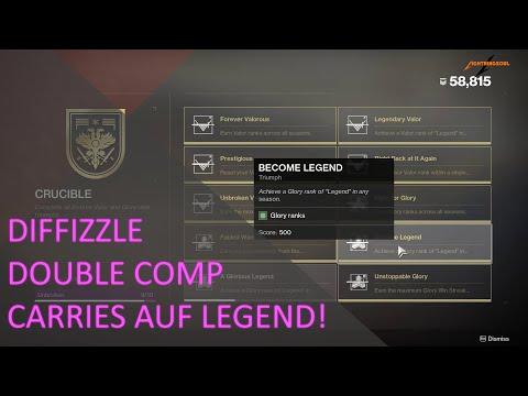 DOUBLE COMP CARRIES AUF LEGEND! - 5.500 Punkte - Diffizzle Auf Twitch
