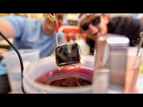 Casey Neistat dipped his Apple Watch in gold and it still works