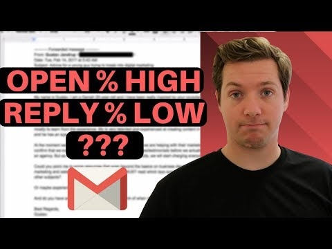 Why You Get A Low Response But High Open Rate  📧Cold Email Teardown📧