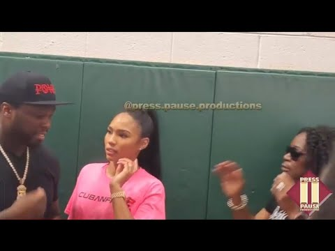 """Cuban Link Brings 50 Cent to Camden For Book Bag Drive, """"Power"""" Theme Returning?"""