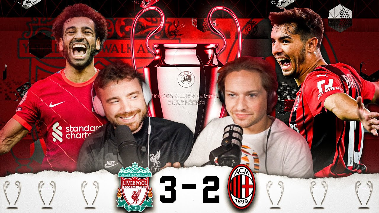 LIVERPOOL 3-2 AC MILAN | RORY REACTS FT. @lozcast