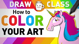 How to Color Your Drawings