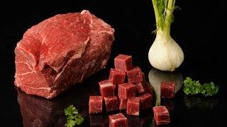 Foodlogistik - Beef Meat Dicing, 20x20x20 Mm Cubes