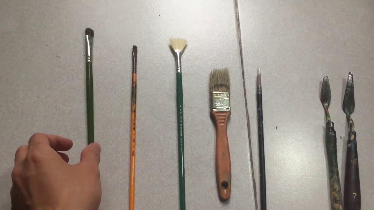 Giới thiệu dụng cụ vẽ dành cho người bắt đầu-NCT Acrylic Painting Vlog#1