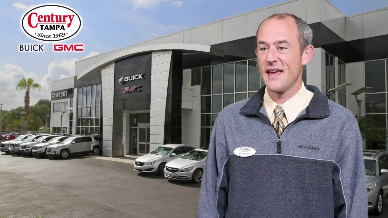 Century Buick Gmc Tampa Fl >> Meet Casey Bauer At Century Buick Gmc In Tampa Fl