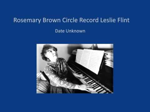 Rosemary Brown Circle Record Leslie Flint