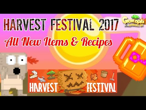 Access youtube growtopia harvest festival 2017 all new items recipes forumfinder Choice Image
