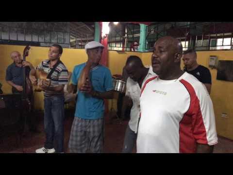 Music at El Patio Baracoa, Cuba