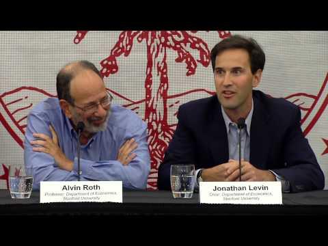 Al Roth: 2012 Nobel Laureate in Economic Science Press Conference