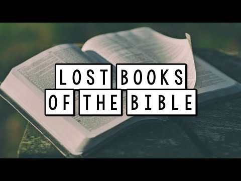 Lost &  Forbidden Books Of The Bible - The Apocrypha - Part 1