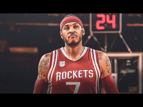 Carmelo Officially Signs Rockets! Lakers Playoffs? 2018 Free Agency