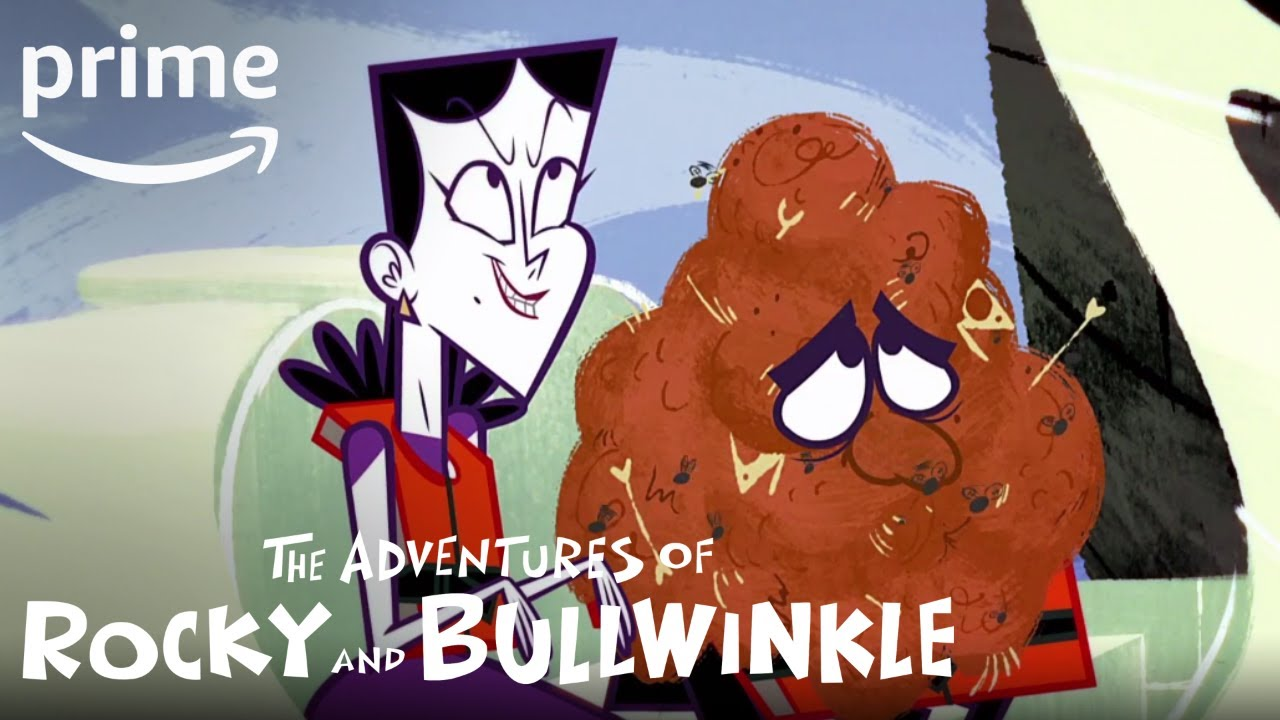 Download The Adventures of Rocky and Bullwinkle - Clip: Chum | Prime Video Kids