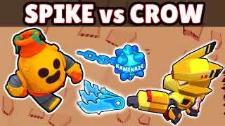 CROW vs SPIKE Mecha | 1 VS 1 | 18 + 1 Test