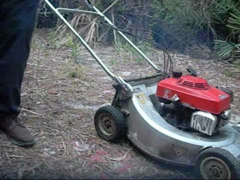 Honda HR214 Lawn Mower Self Propelled