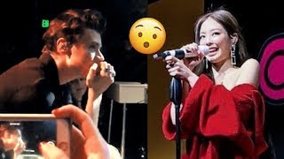 JENNIE & HARRY STYLES DATING?! His Reaction Watching Her Perform at Chanel Event!