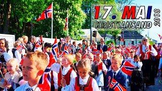 Skoletoget 17. mai 2018: Kristiansand