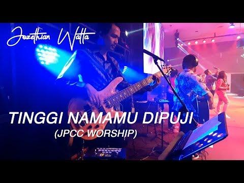 Tinggi NamaMu Dipuji // JPCC WORSHIP // Jozethian (bass cover)