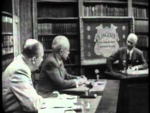 LONGINES CHRONOSCOPE WITH GEORGE A. SLOAN