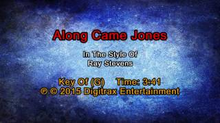 Ray Stevens - Along Came Jones (Backing Track)