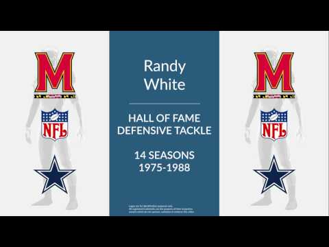 Randy White Hall of Fame Football Defensive Tackle and Linebacker