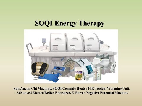 SOQI Energy Therapy | Chi Machine, SOQI Ceramic FIR Heater, Adv ERE, E-Power