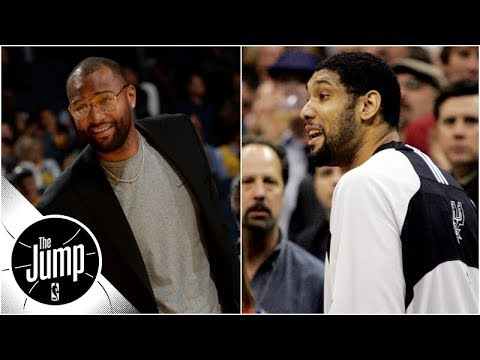 Was DeMarcus Cousins' bench ejection better than Tim Duncan's? | The Jump