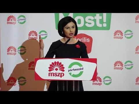 MSZP | Nők a változásért, változás a nőkért - Kunhalmi Ágnes beszéde